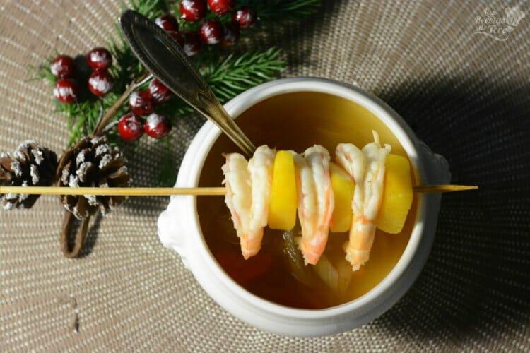 Sopa De Gambones Y Mango 06