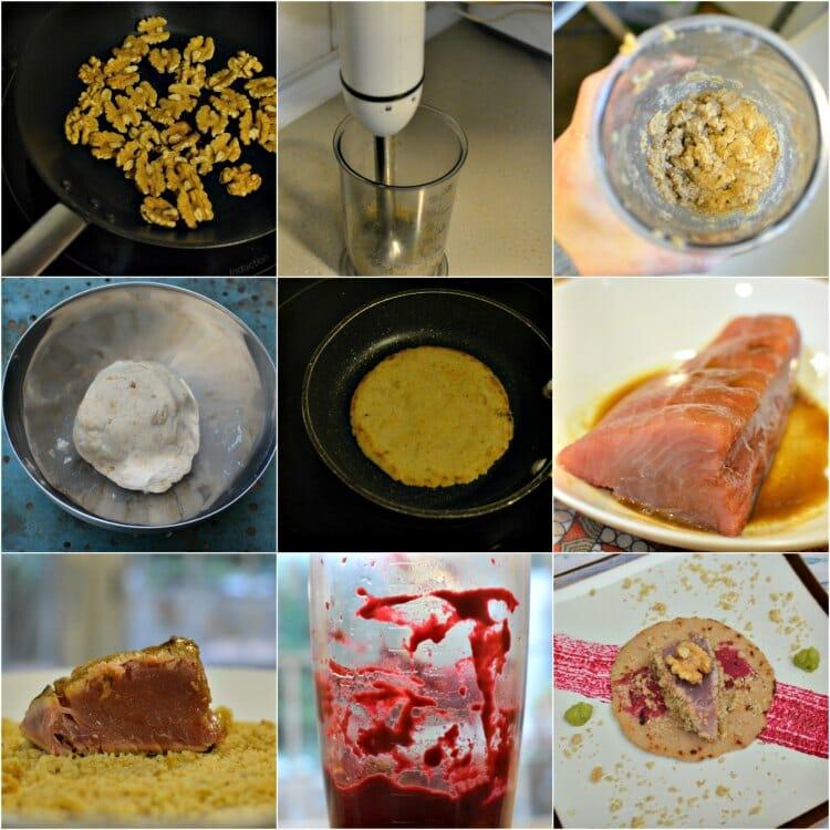 Collage Tortitas De Neuz Y Maiz