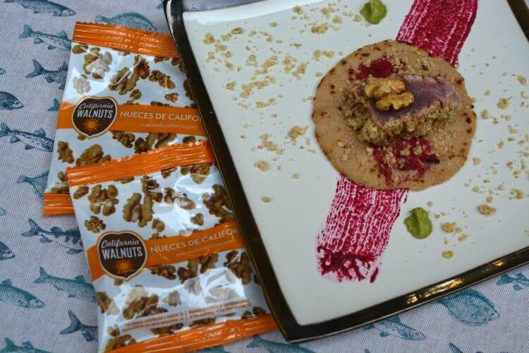 Tortillas De Neuces Y Maiz Con Tataki De Atun Rojo 15